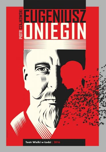 Poster for the spectacle: EUGENE ONEGIN