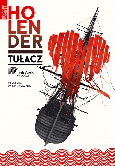 Poster for the spectacle: DER FLIEGENDE HOLLÄNDER