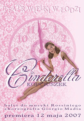 Poster for the spectacle: CINDERELLA