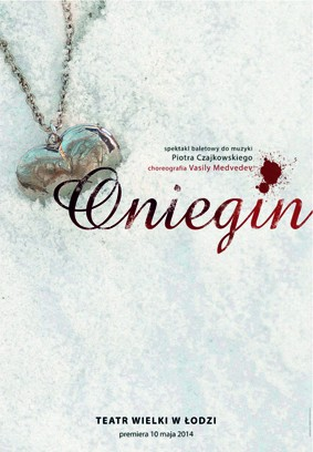 Poster for the spectacle: ONIEGIN
