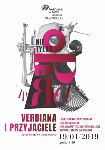 Poster for the spectacle: VERDIANA WITH FRIENDS – A FAIRYTALE CHAMBER STAGE